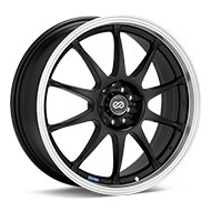 Enkei Performance J10 Black w/Mach Lip Wheels