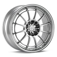 Enkei Racing NT03+M Bright Silver Paint Wheels