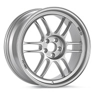 Enkei Racing RPF1 Bright Silver Paint Wheels