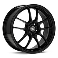 Enkei Racing PF01 Black Painted Wheels