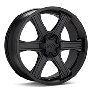 Enkei Truck Blackhawk Black Painted Wheels