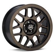 Enkei Truck Matrix Brushed Black Wheels