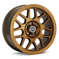 Enkei Truck Matrix Brushed Gold Wheels