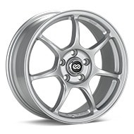 Enkei Tuning Fujin Bright Silver Paint Wheels