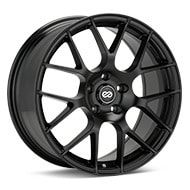 Enkei Tuning Raijin Black Painted Wheels