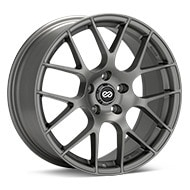 Enkei Tuning Raijin Gunmetal Painted Wheels