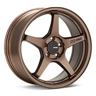 Enkei Tuning TS-5 Bronze Painted Wheels