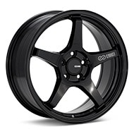 Enkei Tuning TS-5 Gloss Black Painted Wheels