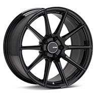 Enkei Tuning TS-10 Black Painted Wheels