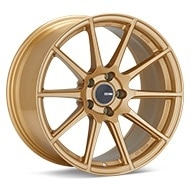Enkei Tuning TS-10 Gold Painted Wheels