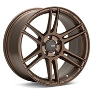 Enkei Tuning TSR-6 Matte Bronze Painted Wheels