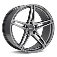 FLOW ONE Race Spec F1 Gloss Gunmetal Silver Painted Wheels