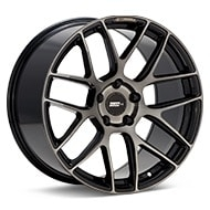 FLOW ONE Race Spec F2 Black Machined w/Dark Tint Wheels