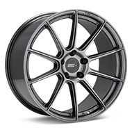 FLOW ONE Race Spec F3 Gloss Gunmetal Silver Painted Wheels