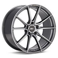 FLOW ONE Race Spec F4 Gloss Gunmetal Silver Painted Wheels