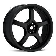 Focal F05 Flat Black Painted Wheels