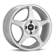 Ford Performance 03 Focus Silver Painted Wheels