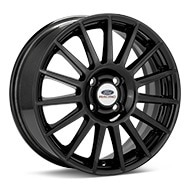 Ford Performance Focus Rally Black Painted Wheels