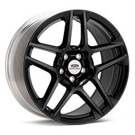 Ford Performance Mustang 2013 SVT Black Painted Wheels