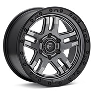 Fuel Off-Road Ammo Anthracite w/Black Ring Wheels