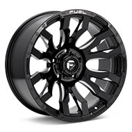 Fuel Off-Road Blitz Gloss Black w/Milled Accent Wheels