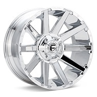 Fuel Off-Road Contra Chrome Plated Wheels