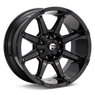 Fuel Off-Road Coupler Gloss Black Painted Wheels