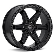 Fuel Off-Road Kicker 6 Black Painted Wheels