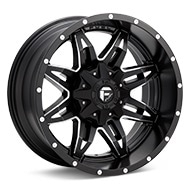 Fuel Off-Road Lethal Black w/Milled Accent Wheels