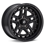 Fuel Off-Road Nitro 5 Black Painted Wheels