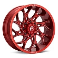 Fuel Off-Road Runner Candy Red w/Milled Accent Wheels