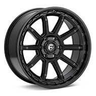 Fuel Off-Road Torque Black Painted Wheels