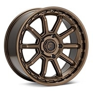 Fuel Off-Road Torque Matte Bronze Painted Wheels