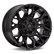 Fuel Off-Road Twitch Black Painted Wheels