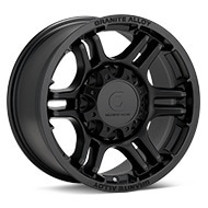 Granite Alloy GA640 8-Lug Black Painted Wheels