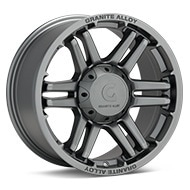 Granite Alloy GA640 Anthracite Painted Wheels