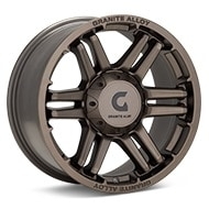 Granite Alloy GA640 Dark Metallic Bronze Wheels