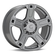 Granite Alloy GA641 Anthracite Painted Wheels
