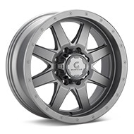 Granite Alloy GA643 8-Lug Anthracite Painted Wheels