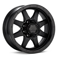 Granite Alloy GA643 8-Lug Black Painted Wheels