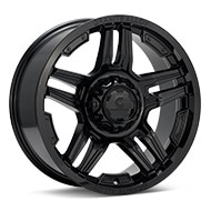 Granite Alloy GA644 Gloss Black Painted Wheels