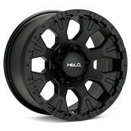 Helo HE878 Black Painted Wheels