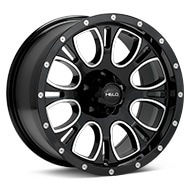Helo HE879 Black w/Milled Accent Wheels