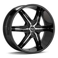Helo HE891 Black Painted Wheels