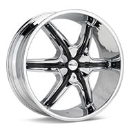 Helo HE891 Chrome Plated Wheels