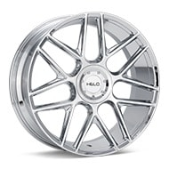 Helo HE912 Chrome Plated Wheels