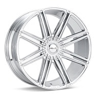Helo HE913 Chrome Plated Wheels