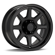 KMC KM301 Turbine Black Painted Wheels