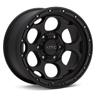 KMC KM541 Dirty Harry Textured Black Wheels