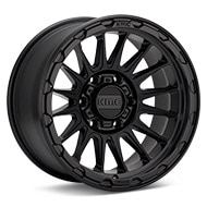 KMC KM542 Impact Black Painted Wheels